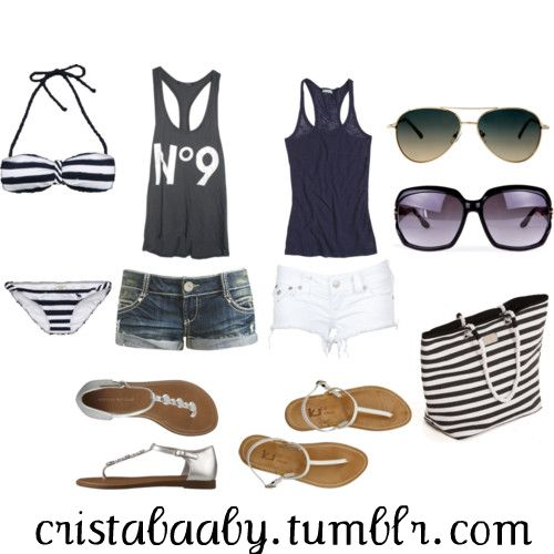 Cute Beach Outfits Polyvore 2014-2015 | Fashion Trends 2016-2017