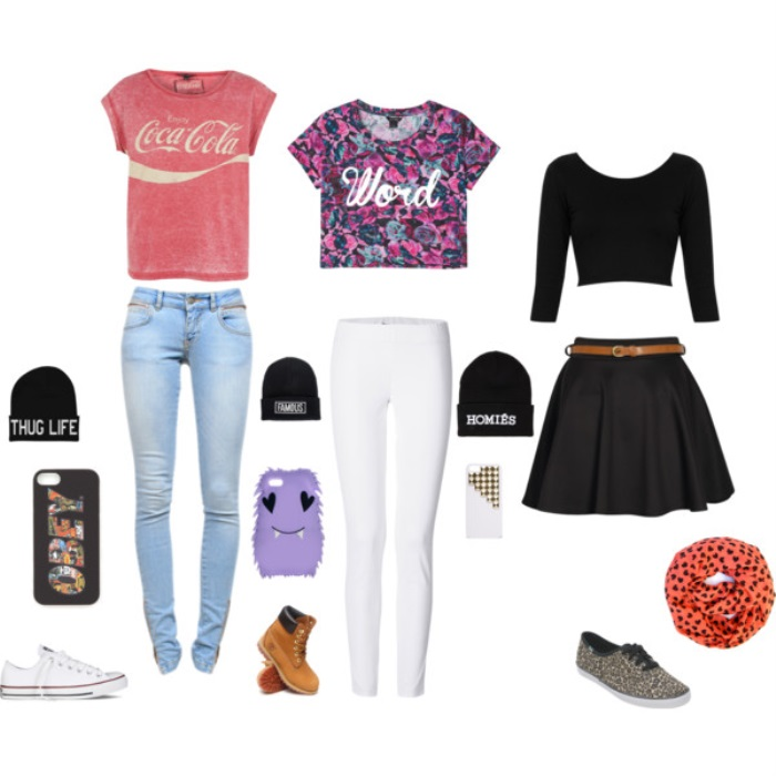 Teenage Girl School Outfit Ideas
