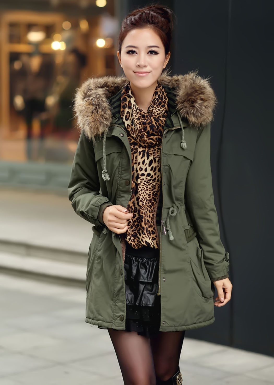 Parka Jacket Women