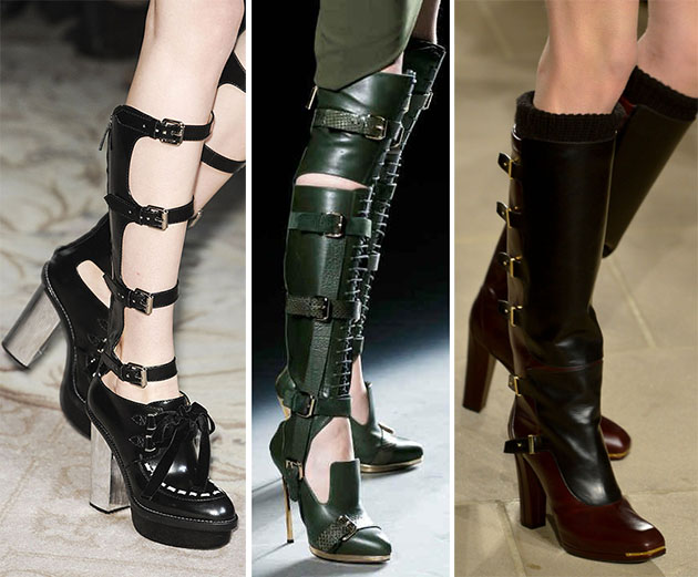 2019 year style- Fashion fall trends boots
