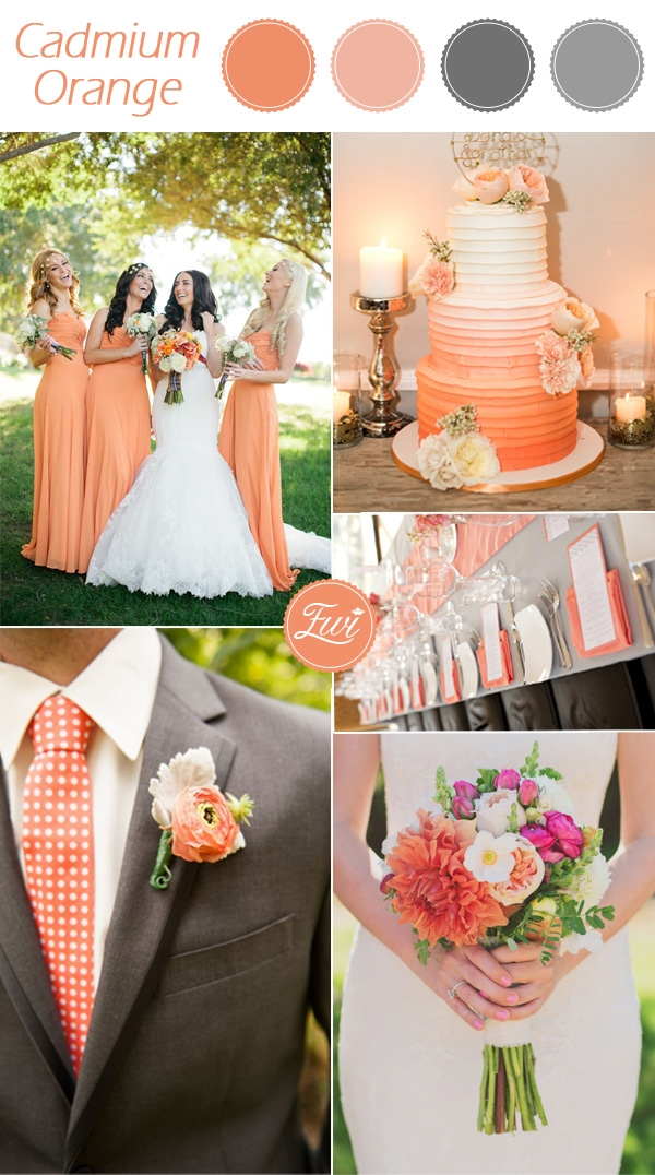 Fall Wedding Color Trends 2015 2016