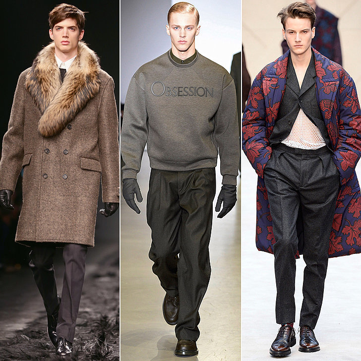 Mens Fall Clothes 2014 Fragment Model Trends Men