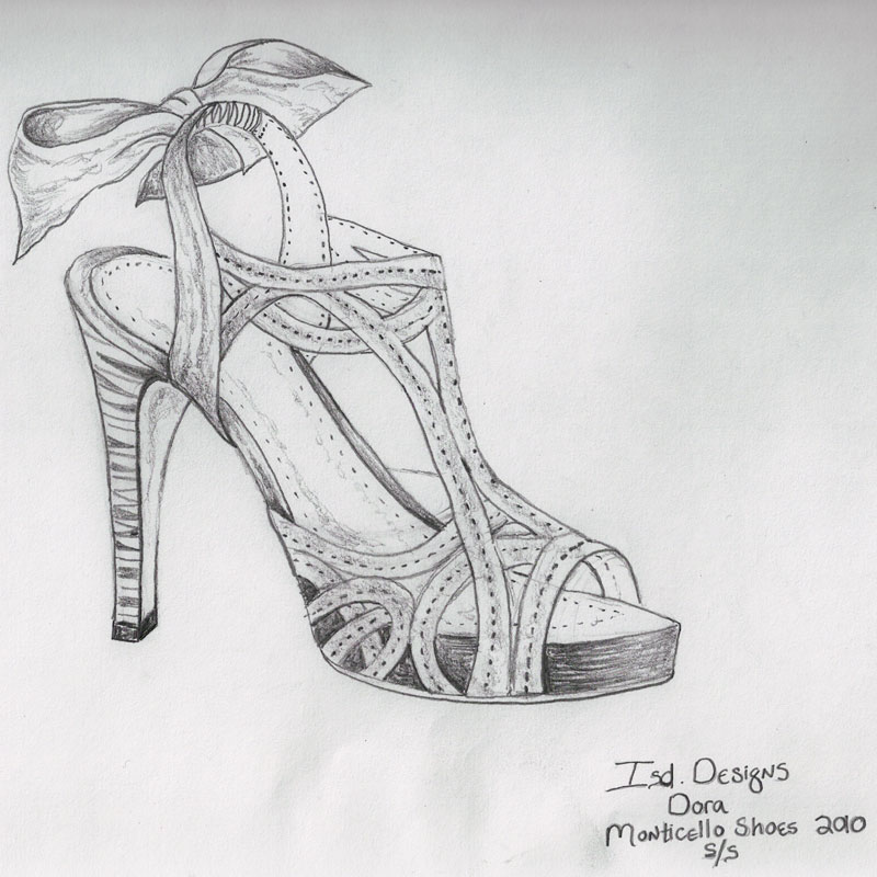 This is a photo of Agile Shoe Design Drawing