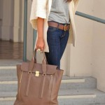 Casual_fall_outfits_womens_fashion_clothes_style_apparel_clothing_closet_ideas._brown_handbag_jeans_white_sweater_My_Style_Pinte