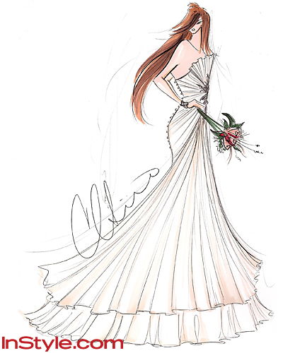 Fashion Design Sketches Dresses Designs Dresses Sketches