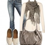 Fashion_в_Pinterest_fall_tunic,_women__39;s_casual_и_knit_scarves
