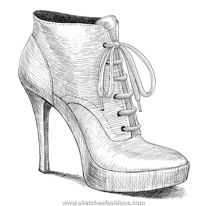 Fashion Design Sketches Shoes 2015 2016 Fashion Trends
