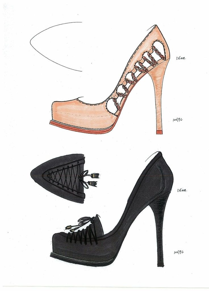 Fashion Design Sketches Shoes Shopping Guide We Are