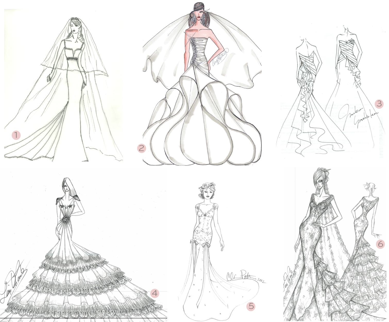 Fashion Design Sketches Of Short Dresses 2015-2016 | Fashion Trends 2016-2017