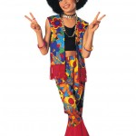 Flower_Power_Girls_Halloween_Costume_Child_Medium_8_10_eBay