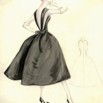 Items_similar_to_Little_Black_Dress_Vintage_Couture_Fashion_Sketch_Collection_of_4_with_pencil_detail_(various_images_and_sizes)
