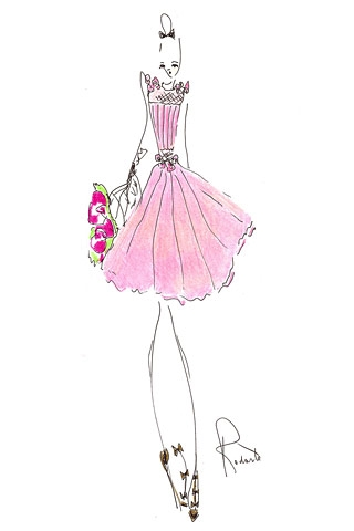 Fashion Design Sketches Of Short Dresses Shopping Guide