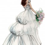 Wedding_Dress_Sketches_-_Anne_Hathaway__39;s_wedding_dress_by_Valentino._._Famous_Brides_Pinterest
