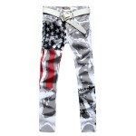 Мужские_джинсы_New_2015_Men__39;s_Fashion_Slim-fit_Jeans_Pants_Trousers_USA_American_Flag_Jeans_HOT_купить