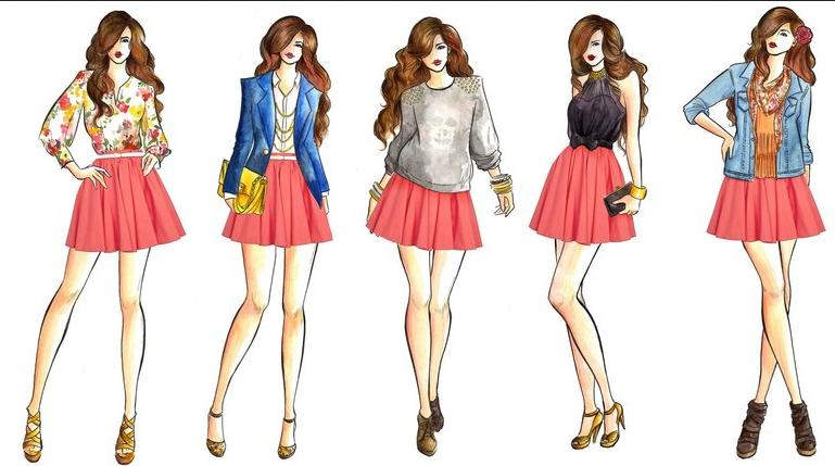 Simple Fashion Design Sketches Of Dresses 2014 2015 Fashion Trends 2015 2016