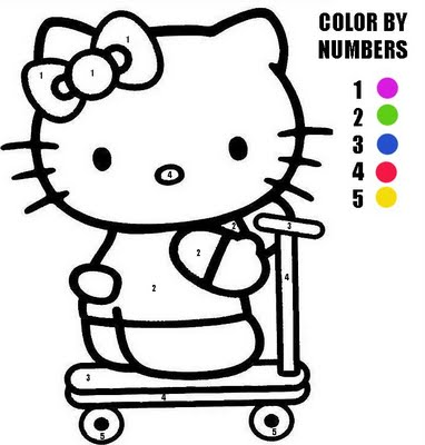Awesome hello kitty merry christmas coloring pages for Hello kitty summer coloring pages