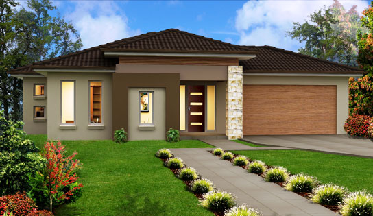 Modern single storey house designs 2016 2017 fashion for One story modern house