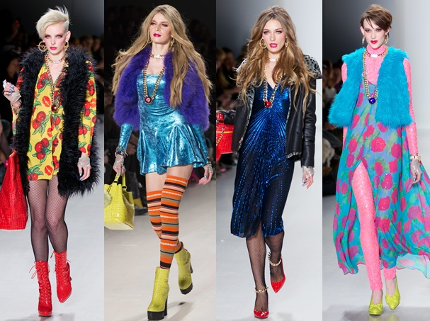 New York Fashion Week - Betsey Johnson - Runway