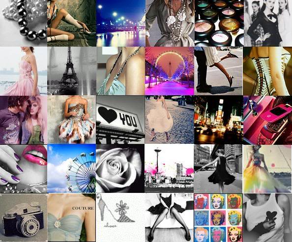 fashion collage backgrounds black and white 20142015
