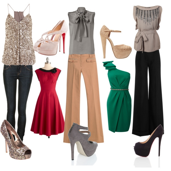 Cute Christmas Party Outfits Photos 2015-2016