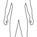 Costume_Sketch_Templates_Bonus__._An_early_sketch_of_Titan__39;s_costume__._Croquis_Pinterest