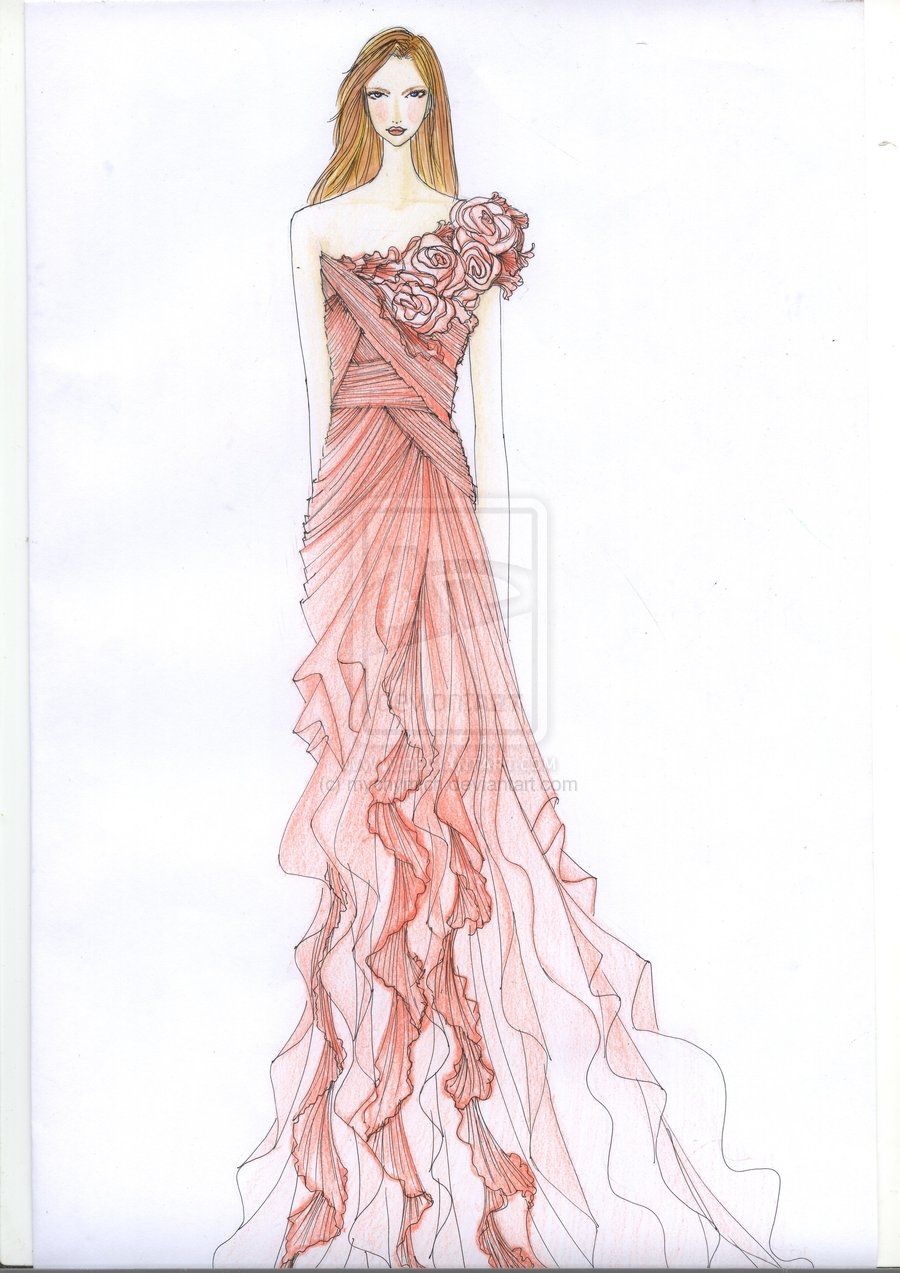 Fashion Design Sketches Of Dresses Review Fashion Trends