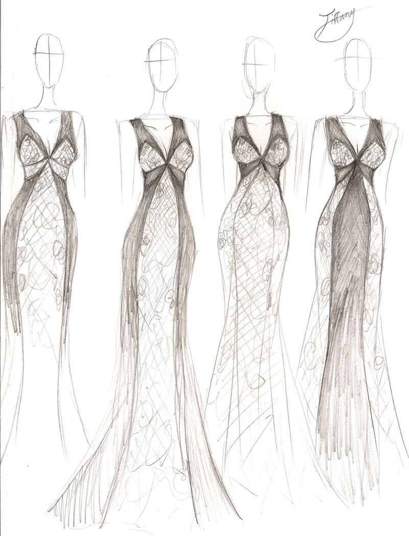 Fashion Design Sketches Of Dresses review | Shopping Guide ...