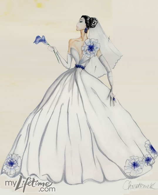 simple fashion design sketches of dresses 20152016