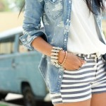 H_amp;M_Shirts,_Stripped_Shorts_Gap_Shorts__