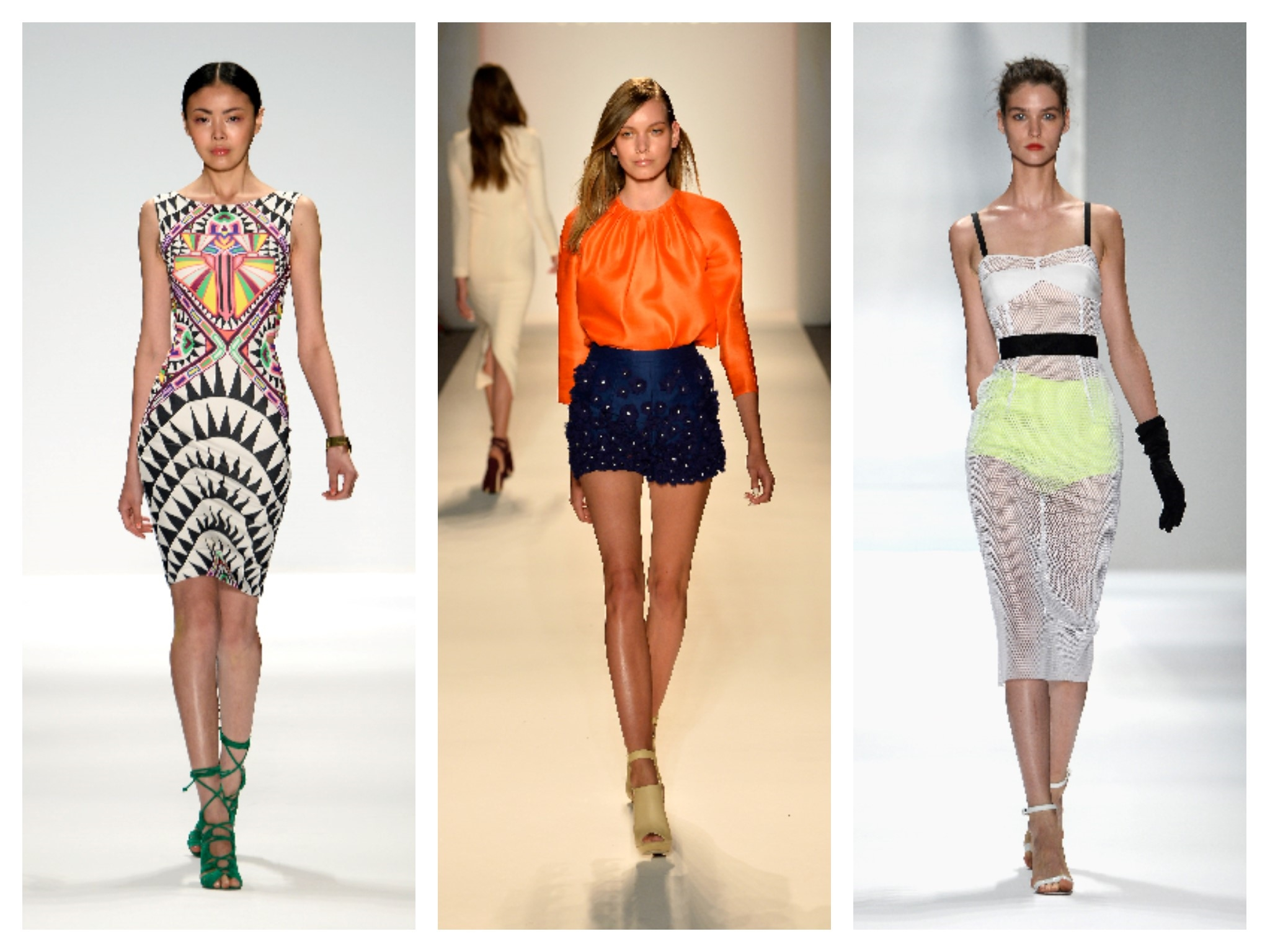 Summer's 5 Top Trends As the temperatures warm from the runway to the red carpet, we're getting inspired by the season's hottest trends. Whether it's bold printed shorts, as seen on Barbara Bui's.