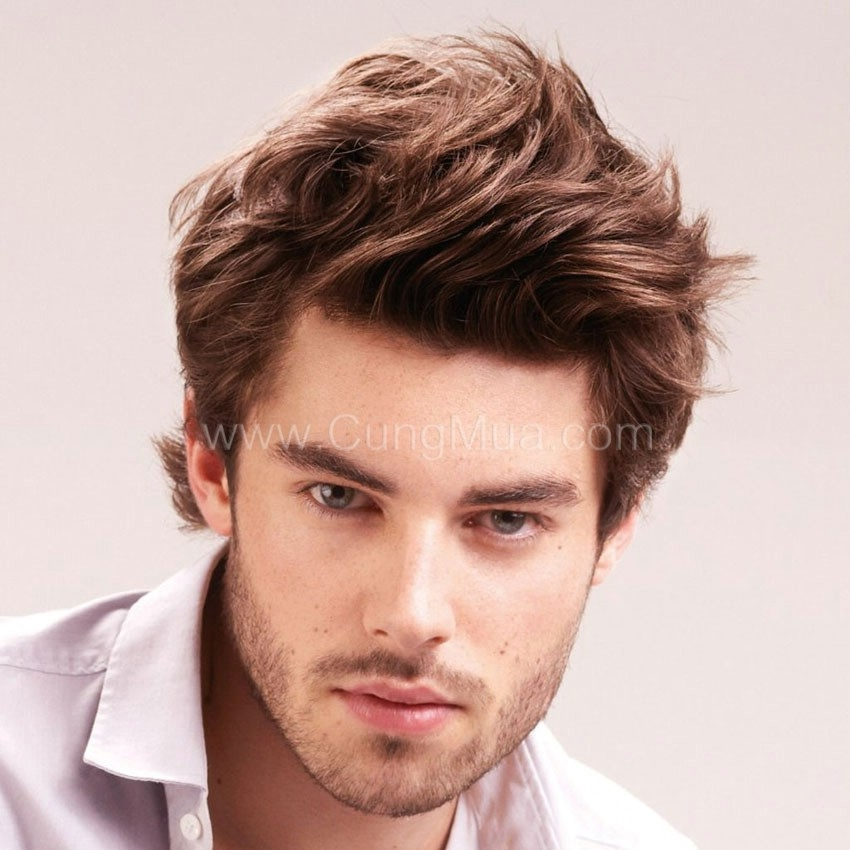 Trendy Medium Haircuts Men: Summer Foto Medium Hair Trends 2016-2017