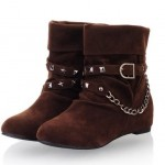 Pictures_of_Stylish_Chain_Rivet_Embellished_Short_Boots_Brown