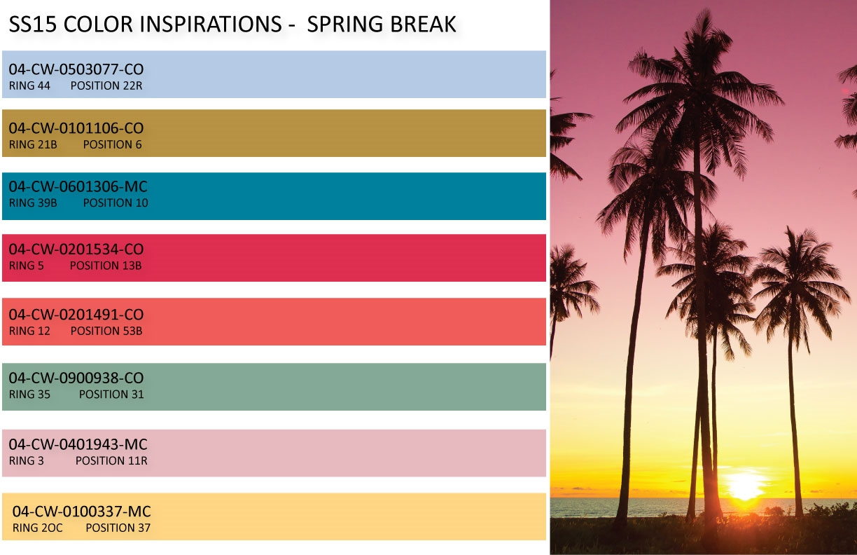 Colorful Is Trending: Spring Fashion Color Trends 2015-2016