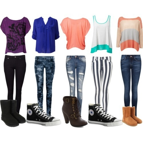 Popular Girl Outfits For School