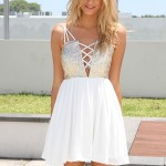 White_Party_Dress_-_White_Sleeveless_Dress_with_Sequin_UsTrendy_We_Heart_It