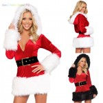 Wish_Hot_Women_Santa_Claus_Father_Christmas_Fancy_Dress_Suit_Costume_Xmas_Outfit_F_F