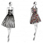 fashion_sketches_of_dresses_image_search_results