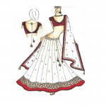 images_of_bridal_sketches_-_Google_Search_Indian_sketching_Pinterest