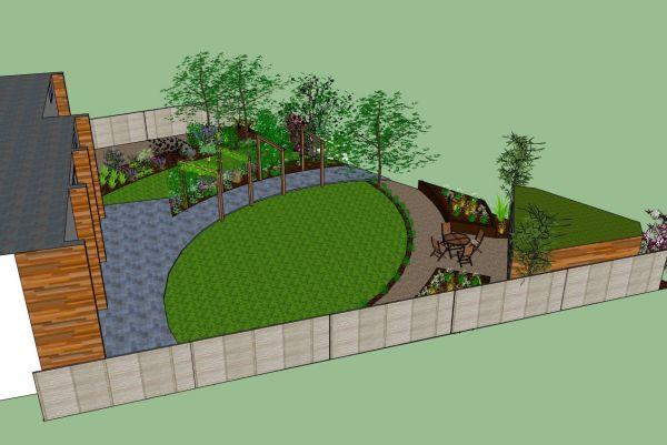 3d garden design 2016 fashion trends 2016 2017 for Garden design 3d online