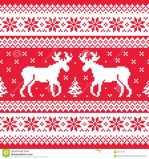 Knitting Pattern Christmas Jumper Reindeer : Amazing Christmas Sweater Texture 2014-2015 Fashion Trends 2016-2017
