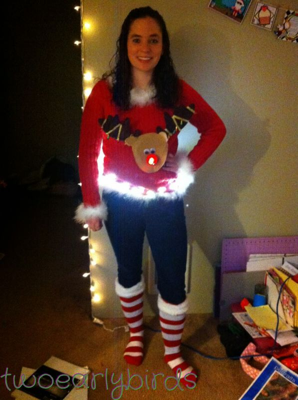Awesome Ugly Christmas Sweater Ideas Reindeer Pictures ...