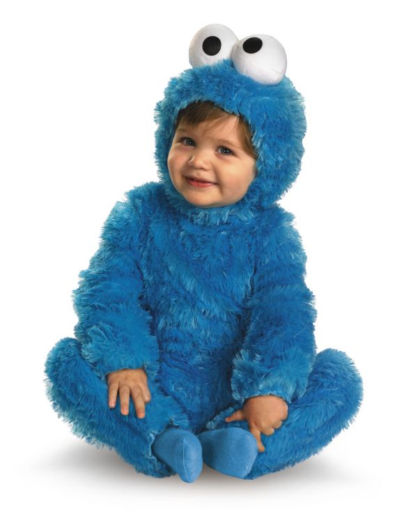 Baby  amp  Infant Costumes     Psyche HalloweenHomemade Cookie Monster Halloween Costume