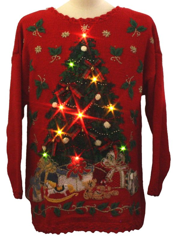 Diy Ugly Christmas Sweater With Lights Shopping Guide