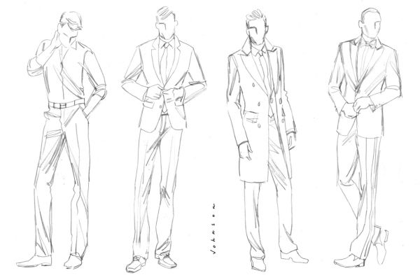 Fashion Design Men Sketches Shopping Guide We Are