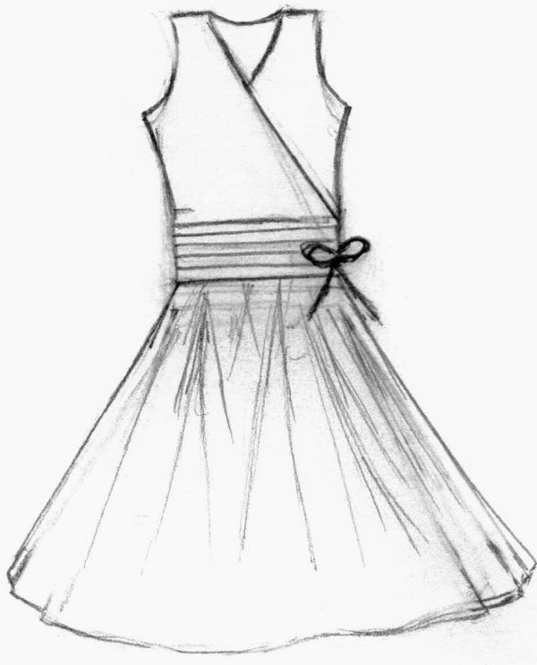 Fashion Design Sketches Of Short Dresses 2015-2016 ...
