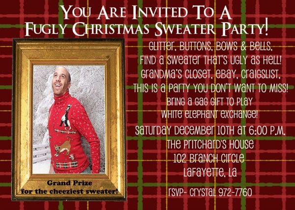 Great diy ugly christmas sweater party ideas photos 2017