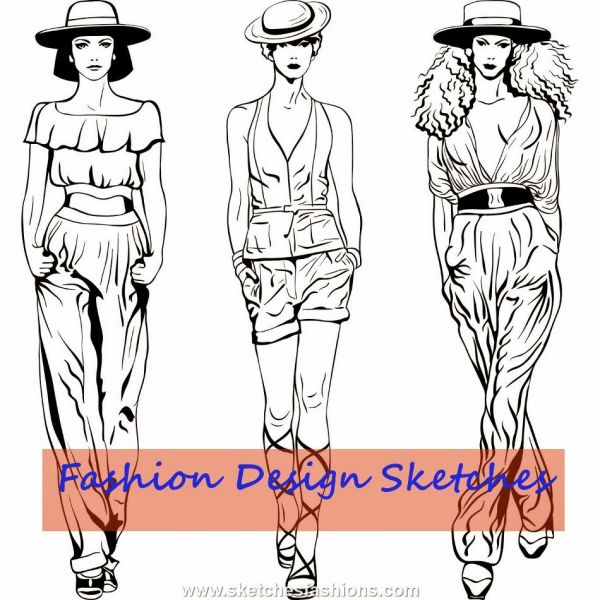 professional fashion designing sketches 20142015