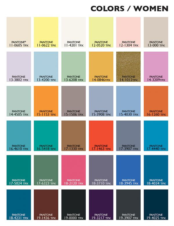 Spring Fashion Color Trends 2014-2015 | Fashion Trends 2015-2016
