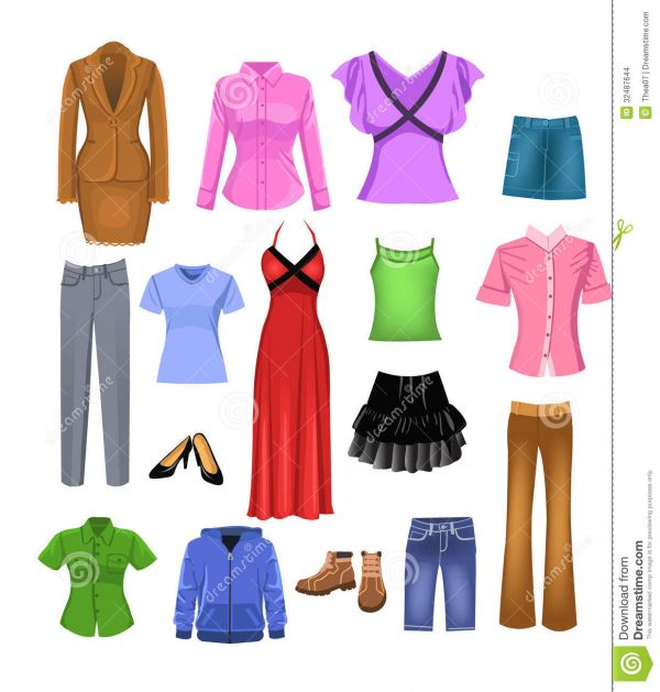 clipart women's clothing - photo #6