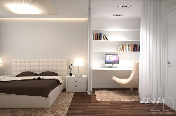 bedroom with study area designs 2015 2016 fashion trends
